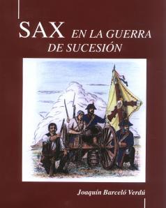 """Portada """"Sax en la Guerra de Sucesión"""" (2008)"""