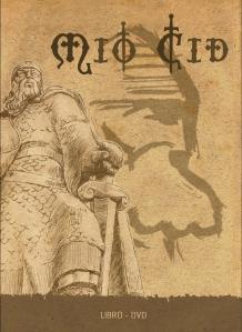 """Portada """"Libro-DVD Mio Cid"""" (2007)"""