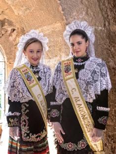 Damas 2017: María Isabel Andréu Pérez (infantil) y Carmen Ortín García