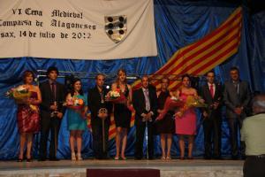 VI Cena Medieval - Capitanes 2013