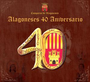 Caratula CD: Alagoneses 40 aniversario