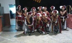 Alagonesas en las Fiestas de Villena 2012