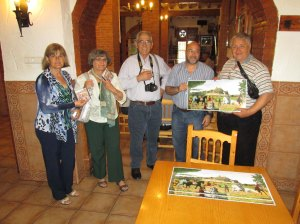 Visita hermanos Pantano López