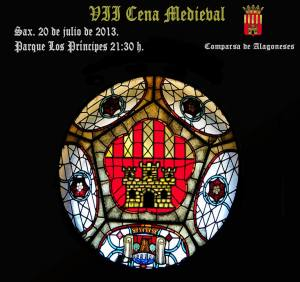 VII Cena Medieval - Cartel