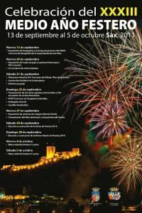 XXXIV Medio Año Festero - Sax 2013
