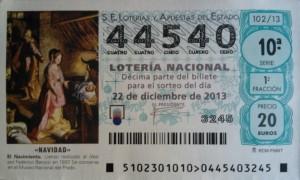 Lotería 2013 - Alagoneses