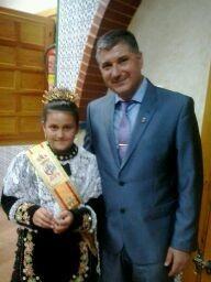 Reina Infantil 2014: Irene Latorre Antón