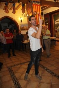 Don Artal interpretado por Luis Huesca.  Fotografía de José Martínez.