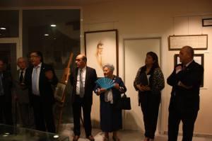 Inauguración Exposicion homenaje a Joaquín Barceló Verdú. Fotografía de Eduardo Gómez.