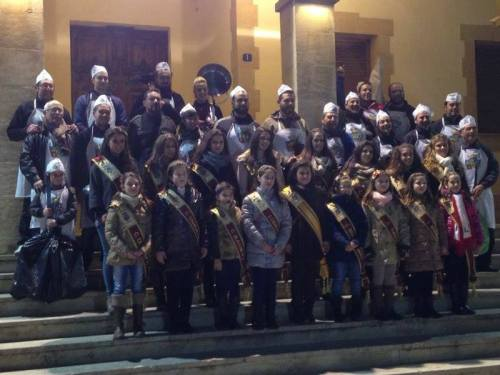 XL Concurso de Gachamiga: participantes, Reinas y Damas de honor 2014