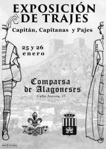 Exposicion de trajes - Capitanía Alagoneses 2014