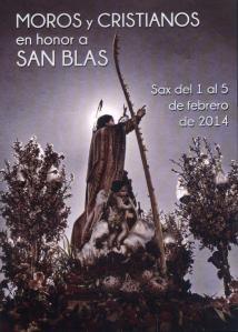 Horarios Fiestas de San Blas 2014