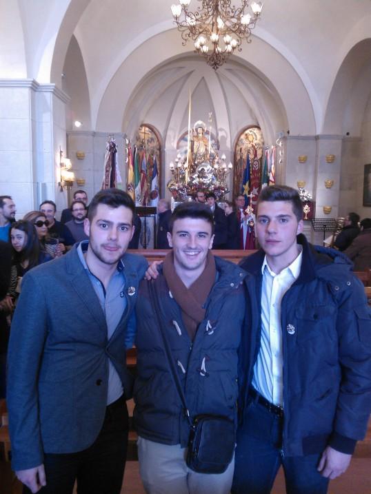 """Tres nuevos alagoneses """"Amigos de San Blas"""""""