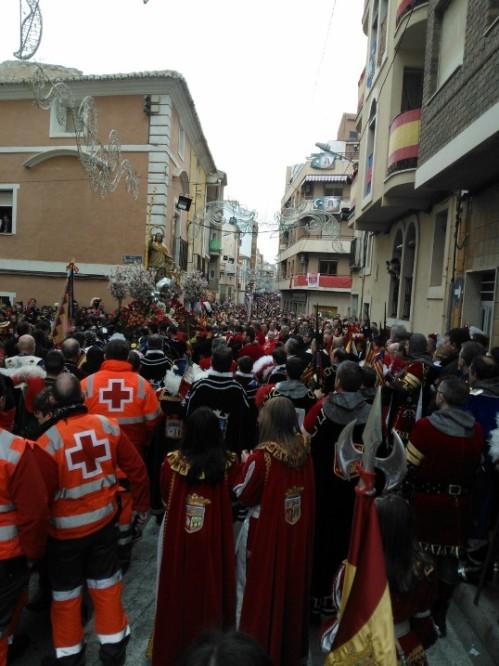 Fiestas de San Blas 2014 · Procesión día 3 de febrero
