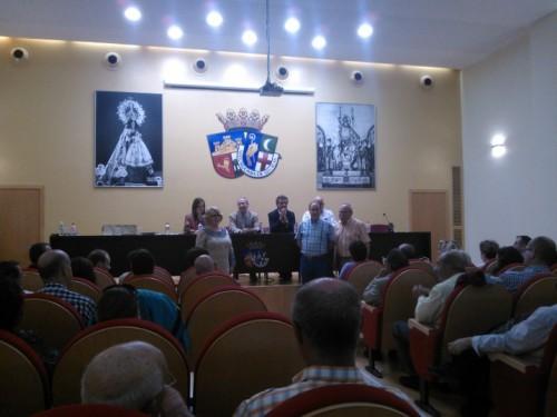 José Vicente Vaquer, nuevo Presidente de la Mayordomía de San Blas, toma su cargo y presenta a los miembros de su Junta Directiva