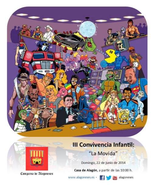 III Convivencia Infantil · Comparsa de Alagoneses 2014