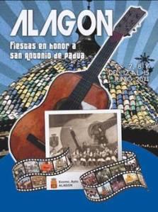 Cartel de las Fiestas de San Antonio en Alagón 2014