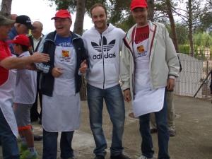 """Ganadores del XXXVIII Concurso de Gachamiga """"Pepe Mataix"""" - Comparsa de Alagoneses 2014. Fotografía de José Martínez Antolín"""