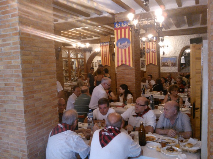 XVIII Almuerzo de Hermandad con la Peña Sajeño Alagonesa (5/6)