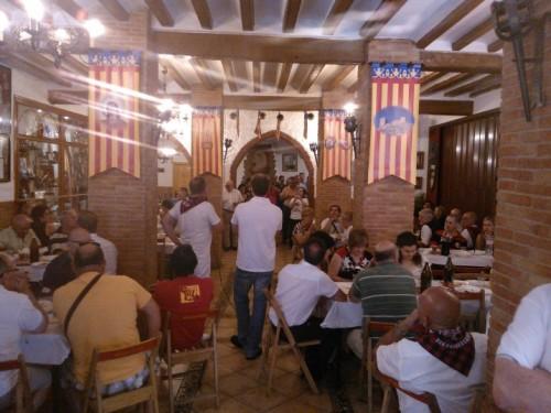 XVIII Almuerzo hermandad con la Peña Sajeño Alagonesa · 2014