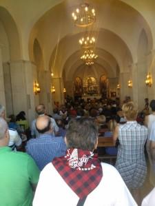 XVIII Almuerzo hermandad con la Peña Sajeño Alagonesa · 2014.  Misa baturra en la Ermita de San Blas.