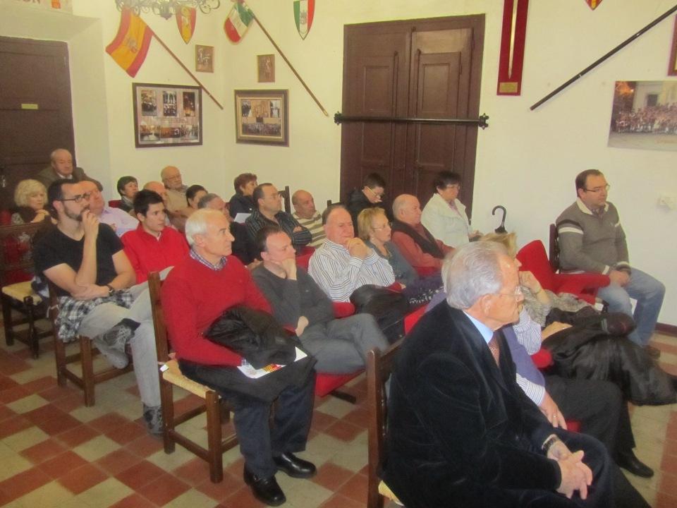 Público Conferencia Vicente Vázquez (2). 775 aniversario muerte de Don Artal de Alagón. Alagón, 15 de noviembre de 2014.