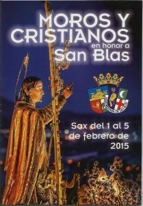 Horarios Fiestas de San Blas 2015