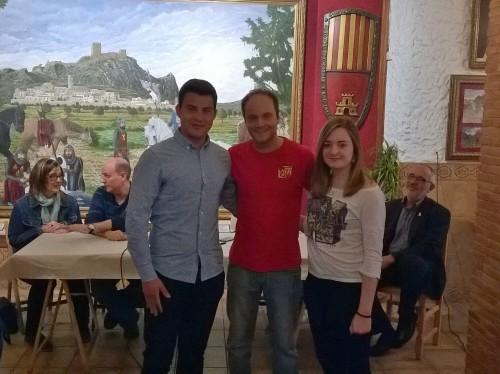 Capitanes Alagoneses 2017: Vicente Vázquez Estevan y Diana Vázquez Ruiz