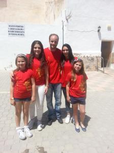 II Convivencia Almogávares, Caballeros de Cardona y Alagoneses. 10 de mayo de 2015.