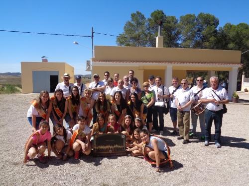 """XXXIX Concurso de Gachamiga """"Pepe Mataix"""" de la Comparsa de Alagoneses. Homenaje a la Colla Los Amigos por su 10º Aniversario."""