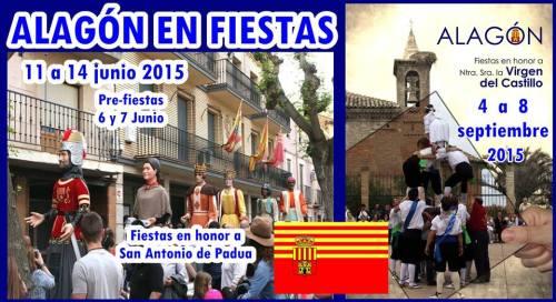 Fiestas de San Antonio 2015 en Alagón. Imágen de: Alagon en Fiestas.