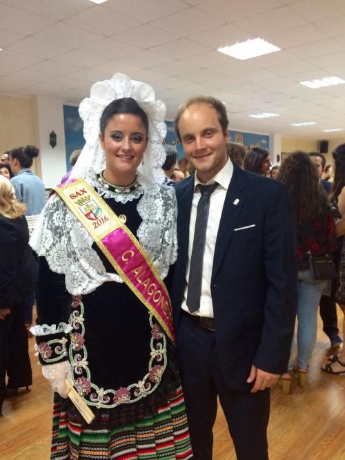 María Mataix Gan es la Dama de Honor de la Comparsa de Alagoneses para el año 2016