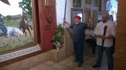 Embajada de Petrer en la Casa de Alagón (Sax). Domingo 4 de octubre de 2015