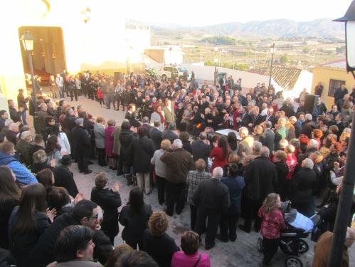 Cabildo2015. Confirmación de Capitanes Alagoneses para las Fiestas de San Blas 2016: José Luis Mataix Azorín y Reme Beltrán Amorós.