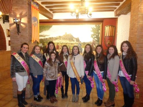 XLII Concurso de Gachamiga de la Mayordomía de San Blas. Gachamiga para Damas y Reinas en la Comparsa de Alagoneses (4)