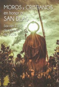Horarios para Fiestas de San Blas 2016