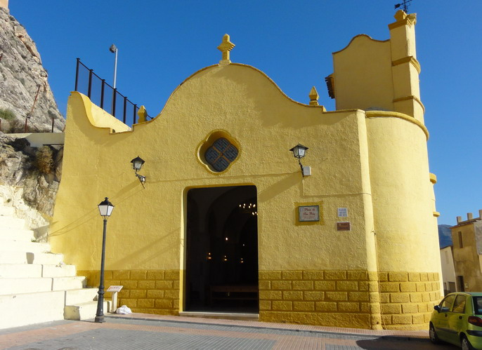 Ermita de San Blas  en Sax.