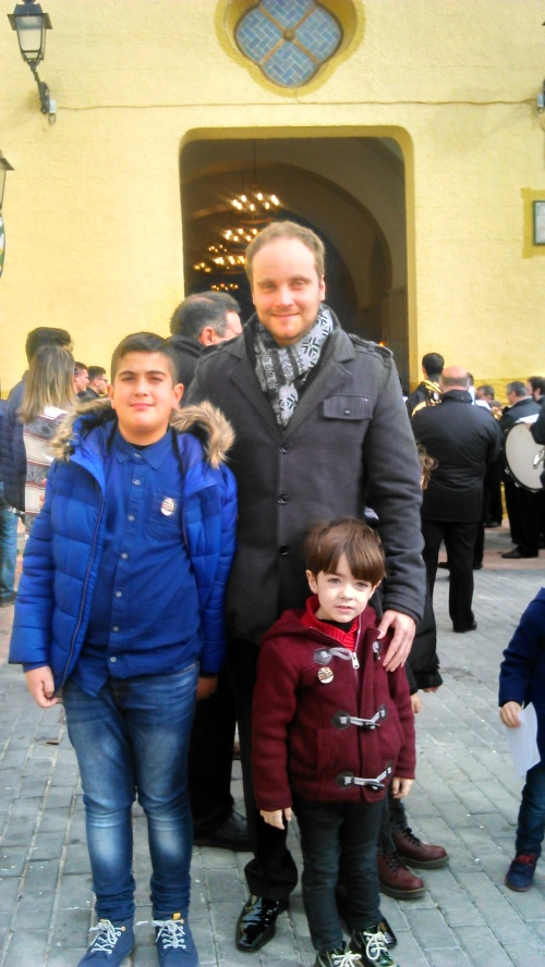 Dos jóvenes Alagoneses han sido nombrados Amigos de San Blas.