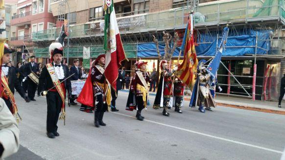 Desfile en Caravaca de la Cruz 2017
