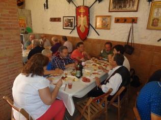 XXI Almuerzo Hermandad - Comparsa de Alagoneses y Peña Sajeño Alagonesa (18)