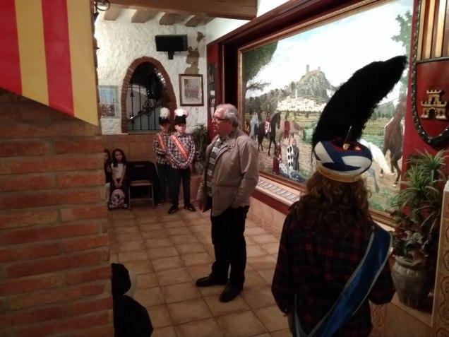 Embajada Infantil en la Casa de Alagón. 6 de mayo de 2018