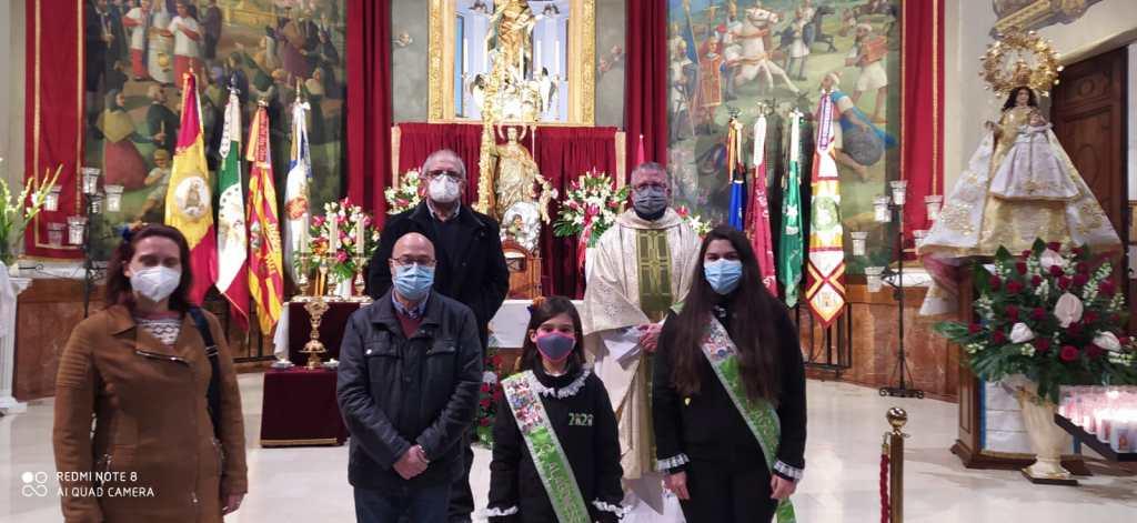 Novena a San Blas 2021 dedicada a la Comparsa de Alagoneses