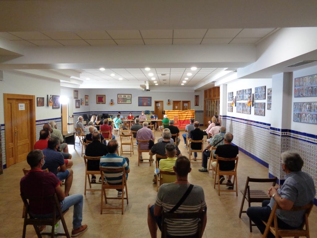 Asamblea general de la Comparsa de Alagoneses. Sábado, 12 de junio de 2021